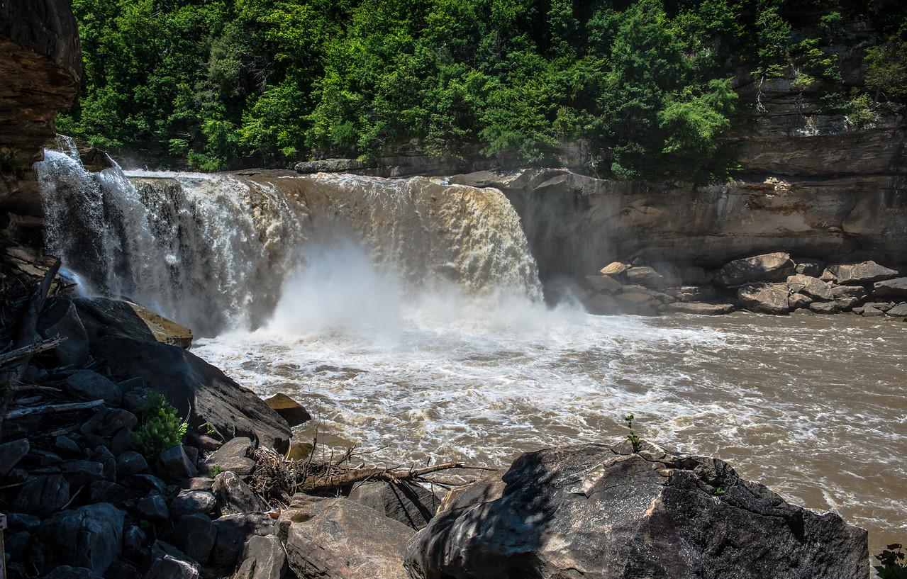 Cumberland Falls--Wild Waters