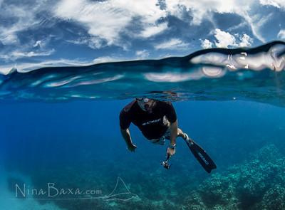 Len de Vries - freediver.
