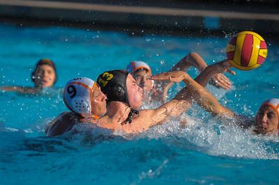 Menlo-Atherton High School Boy's Varsity Water Polo vs. Half Moon Bay, 2014-09-24.
