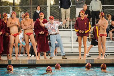 Menlo Atherton High School Varsity Water Polo vs. Bellarmine 2012-09-11
