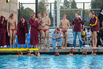 Menlo Atherton High School Varsity Water Polo vs. Bellarmine 2012-09-11