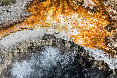 Waterportrait: Unnamed Hot Spring, Upper Basin | Yellowstone National Park