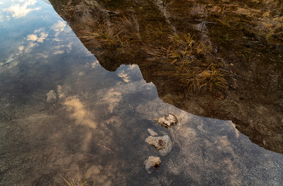 Water Portrait: Sunrise on Mirror Lake | Yosemite National Park