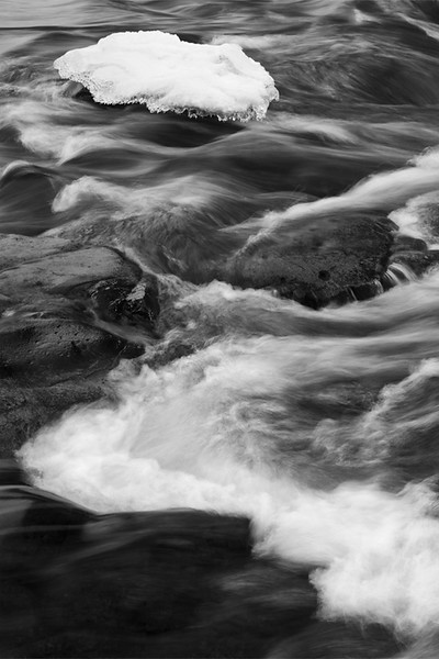 Upper Palouse Falls River detail, Washington