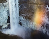 Palouse Falls Ice and Rainbow
