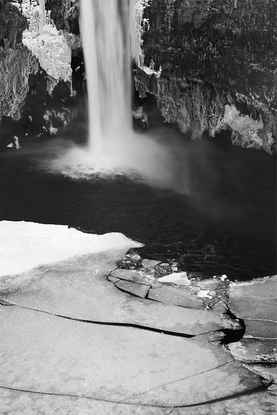 Palouse Falls winter, Washington