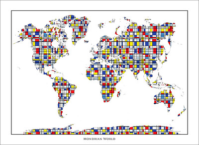 World Maps and Maps of the World Art