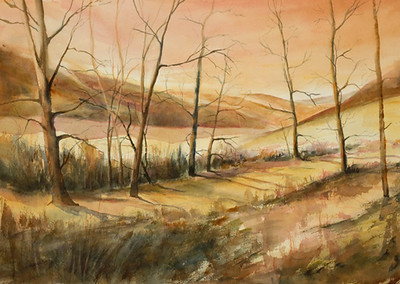 "After the Fire<br /> Image 14"" x 20""<br /> SOLD"
