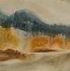 """Landscape<br /> image 7 1/2"""" x 7 1/2""""<br /> #1247 <br /> SOLD"""
