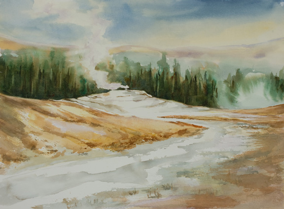 "Yellowstone<br /> 10.5"" x 14.5"" Image<br /> <br /> #1234"