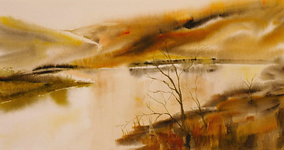 """From Memory<br /> 11"""" x 21""""<br /> SOLD"""