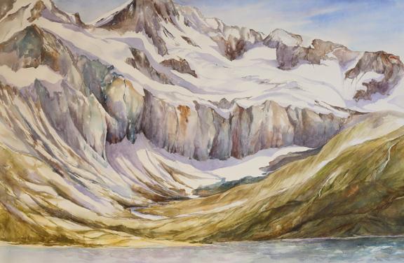 "Big Alaska<br /> Image 21"" x 34""<br /> #1329"