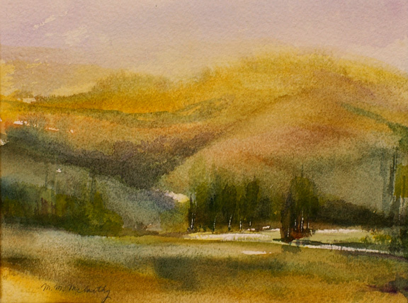 """Yellowstone<br /> 4'""""x 5""""<br /> Sold"""
