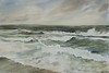 "Pushed to Shore  - Cape Henlopen, NJ<br /> image 14"" x 22"""