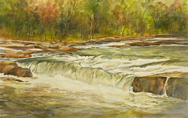 (Youghiogheny River, Ohiopyle Falls, PA)<br /> SOLD
