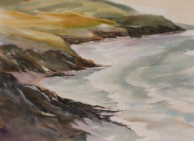 "Dingle Sea and Sky<br /> 10.5"" x 14.5""<br /> #1380"