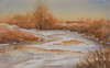 "Riverlands - Winter<br /> 13"" x 21""<br /> #1347"