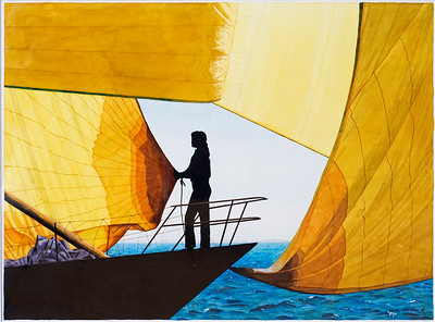 """Yellow Sails"" original"