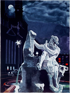 """""""Roman Evening"""" print"""