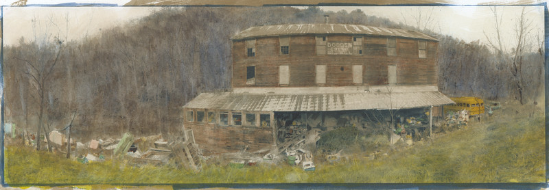 Dodds Creek Mill Panorama