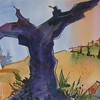Purple Vine   14x21
