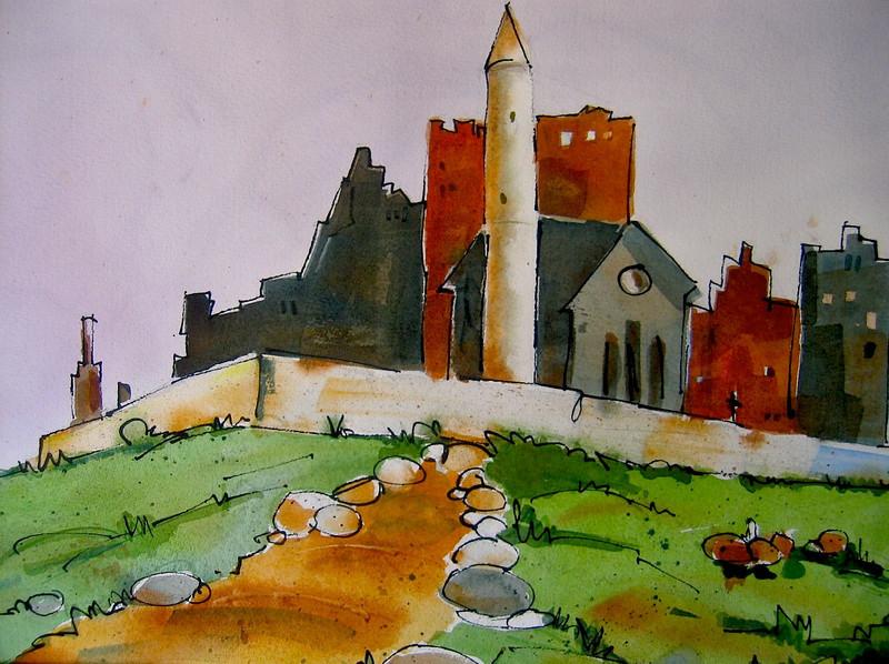 Rock of Cashel 15x22