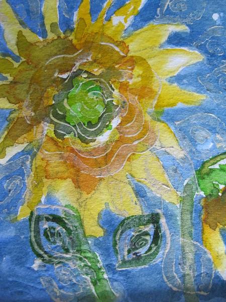 #12 Sunflower Swirls - 2