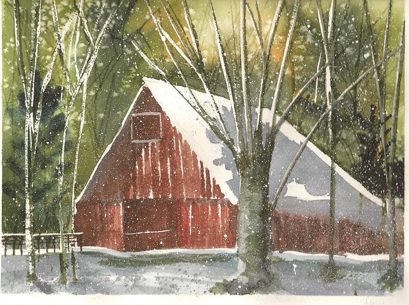 #100 Snow Barn