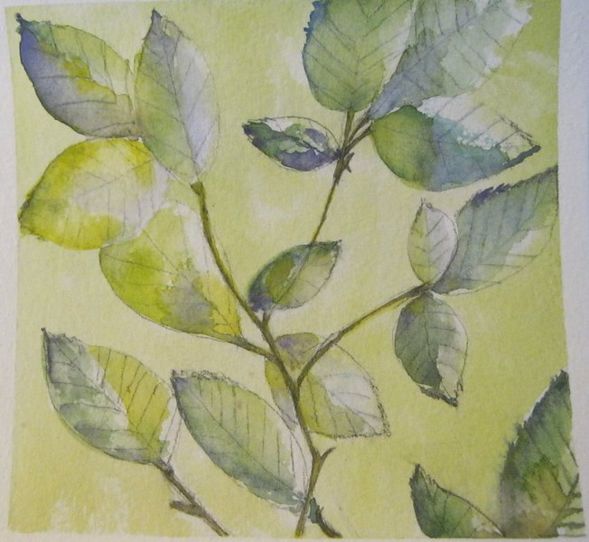 #32 Lemony Leaves
