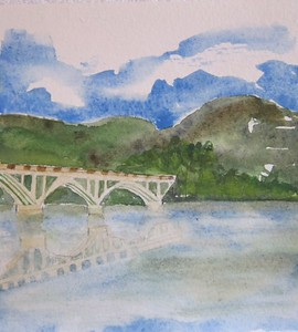#34 Bridge Over Calm Waters On the Duoro River