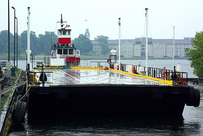 'Vigilant' and Barge for Wolfe Island Wind Farm Project