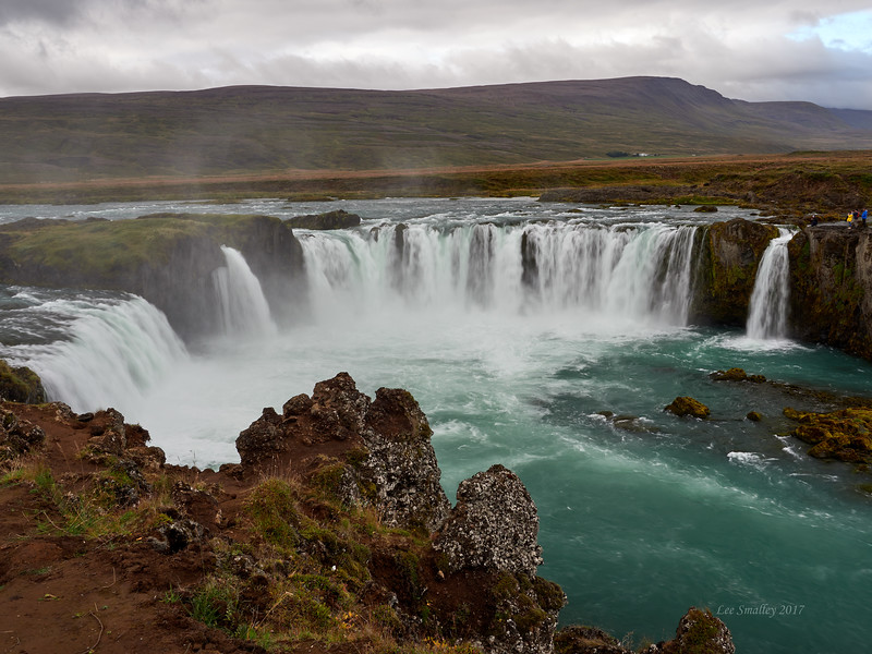 Godafoss. So called because a leader of parliament tossed in his icons of Norse gods upon the national conversion to Christianity in 1000 AD.