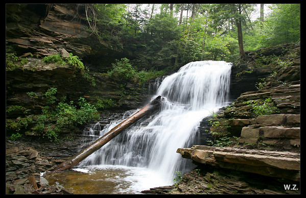 Waterfalls Of Pennsylvania And New York