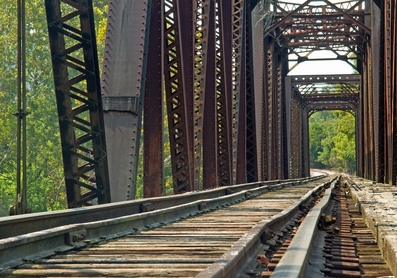 Tracks over the Caney Fork