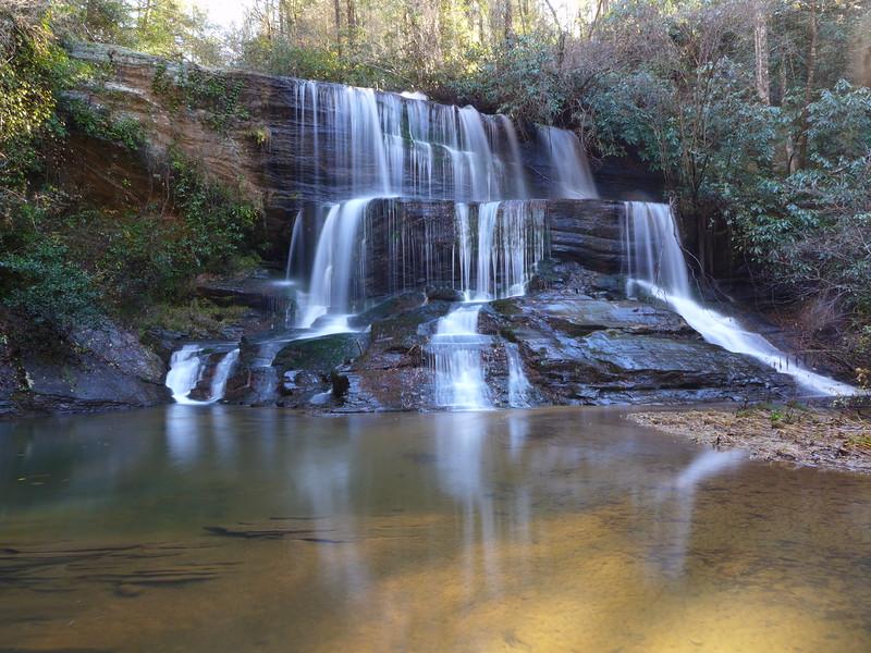 Fall Creek Falls in Oconee County, SC