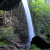 <h1>Standing behind</h1>....the upper section of Moonshine Falls.