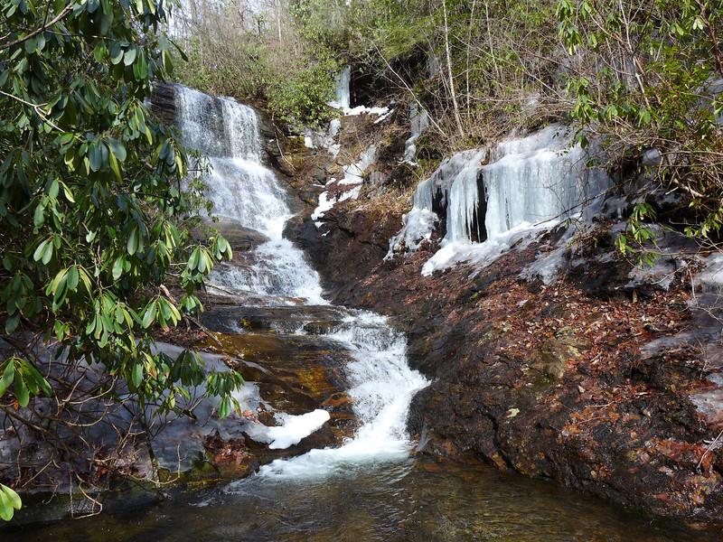 The Waterfall on Kuykendall Creek