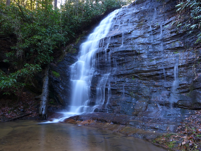 Unnamed waterfall on Fall Creek in Oconee County, SC