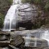 Greenland Creek Falls in Panthertown