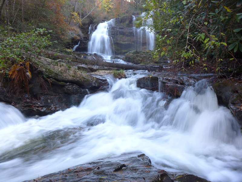 <h1>Long Creek Falls</h1>These are located where Long Creek joins the Chattooga River in Oconee County, SC.