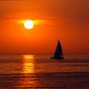 Sailing at Charlevoix, MI