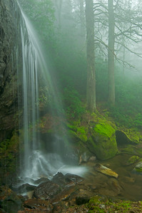 Waterfalls in Nantahala National Forest-North Carolina
