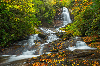 Upper Sols Creek Falls | Nantahala National Forest