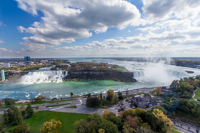 Niagara Falls from Above