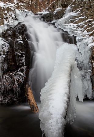 Westfield Falls in the Winter