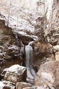 Winter at Eden Falls