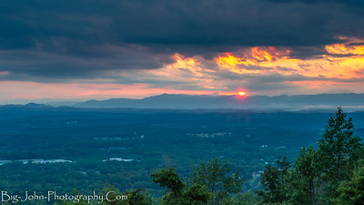 Paris Mountain Sunset S.C.