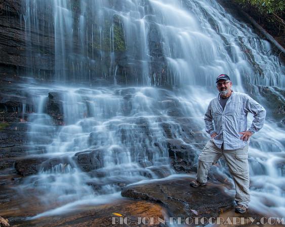 Big John @ Spoonauger Falls.