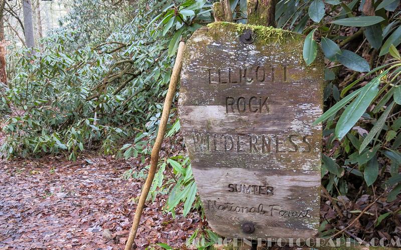 Ellicott Rock Wilderness area