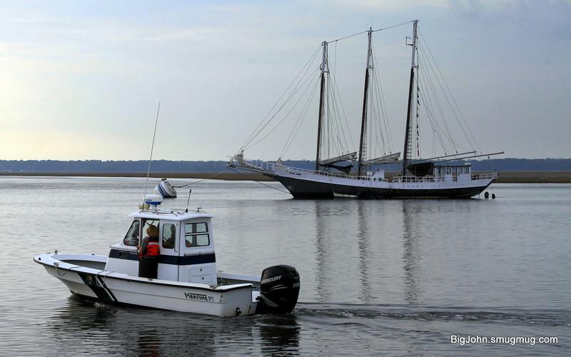St Marys Harbor boat